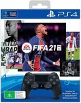[PS4] PlayStation DualShock 4 Controller - FIFA 21 Bundle $68 Delivered @ Amazon AU