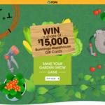 Win 1 of 15 $1,000 Bunnings Gift Cards from Toro Australia