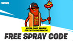 [PC, PS4, XB1, iOS, Android] Free Spray Code for Fortnite - Epic Games