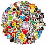 Reayouth 100 Pack Laptop Sticker $6.79 + Delivery ($0 with Prime/ $39 Spend) @ Sparks Co. via Amazon AU