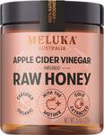 Apple Cider Vinegar Infused Organic Raw Honey 275g $19.90 (Was $24.95) + $9 Delivery @ Meluka Australia