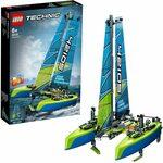 LEGO Technic Catamaran 42105 Model Sailboat Building Kit $35 + Delivery ($0 with Prime/ $39 Spend) @ Amazon AU
