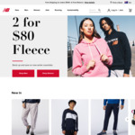 20% off Full Priced Items + Delivery (Free with $100 Spend) @ New Balance