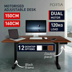 Height Adjustable Standing Desk Electric Motorised $415.65 ($405.87 with eBay Plus) + Delivery @ Mytopia eBay