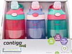 Contigo Kids Gizmo Water Bottles 3x 414ml $14.97 Delivered @ Costco