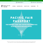 [QLD] Free $10 Gift Card to Spend @ Pacific Fair Shopping Centre (for Anyone Not Living in Postcodes 4225, 4207, 4272)