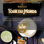 Win A Year's Supply of Maille Mustard and gourmet condiments