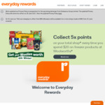 Boost and Spend over $0.01 (Online or in-Store) to Receive 1900 Bonus Points @ Everyday Rewards (App Required)