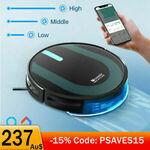 [eBay Plus] Proscenic 850P Robotic Vacuum Cleaner $237.92 ($232.32 with eBay Plus) + Delivery @ Proscenic via eBay