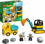 LEGO DUPLO Truck and Tracked Excavator 10931 Building Kit $16.15 + Delivery ($0 with Prime/ $39 Spend) @Amazon AU