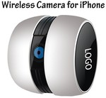 Mini WiFi Wireless A&V IP Camera/Baby Monitor for iPhone/iPad/Android $42.99+Free Shipping