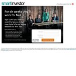 FREE 6-Week Online/iPad App Subscription to Smart Investor from The AFR (No CC Required)
