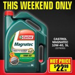 Castrol Magnatec 10w-40 5L $22.99 @ Repco 19th-20th Oct
