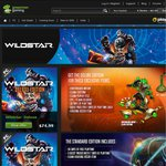 Wildstar Preorder 20% off - $60 Deluxe, $48 Standard - GreenManGaming [Digital]