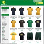 Socceroos 2014 World Cup Replica Australia Home Jersey - 10% off and Free Lettering Via FFA Shop