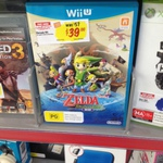 Wind Waker HD $39. More Games Too. The Good Guys - Gepps X [SA]