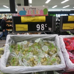 Thompson Seedless Grapes 98c/Kg at Woolworths