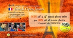 French Open Frenzy - 30% off Our Tennis Photo Products