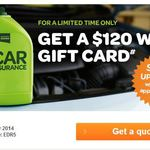 Receive a $120 WISH Gift Card with Woolworths Car Insurance