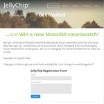 Win a Moto360 Smartwatch (worth $300) from JellyChip (all Aus)