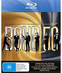 Bond 50 - The James Bond 007 Complete Collection Blu Ray -$128 JB Hi-Fi