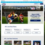 Free 4 Weeks AFL Live Pass