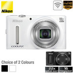 Nikon COOLPIX S9600 16MP Digital Camera for $149 + Delivery @ OO