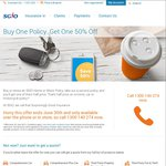 SGIO Insurance Buy One Policy Get One 50% off [WA only]