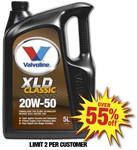 Valvoline Classic 20W50 Engine Oil 5L $11.99 @ Autobarn 55% off