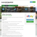 CashRewards - Bonus 1% (Total 3%) Cashback at eBay