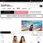 Flash Sale: up to 70% off +15% Cashback (Usually 5.6%) @ Boohoo