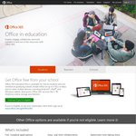 Office 365 for 5 PCs or Macs Free to Students and Education Staff