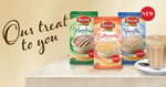 FREE Moccona Sachets (Hazelnut, Butterscotch and Vanilla)