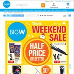 Big W WKND Sale: 40% off Footwear, 2x $30 iTunes $45, Pepsi Varieties 24pk $9.50 + More Deals