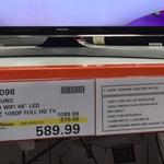 "Samsung 48"" UA48J6200 TV $590 @ Costco [Membership Required]"
