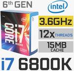 Intel Core i7-6800K 15M Broadwell-E B $549.99 + $10 Shipping @ Techmi.com.au