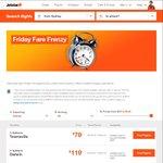 Friday Fare Frenzy - EG Perth to Gold Coast - $69 Each Way @ Jetstar