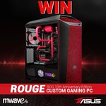 Win an ASUS ROG 10th Anniversary Edition Custom Gaming PC Worth $5,599 from Mwave