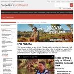 Win an Epic Pilbara Escape for 2 Worth $5,000 from Tourism North West
