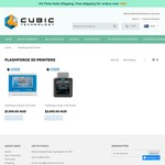 $100 off All Flashforge 3D Printers: Inventor I $1495, Guider II $2595 @ Cubictech