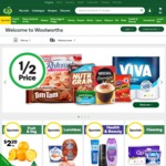 $25 off Your Shop When You Spend $150 Online @ Woolworths