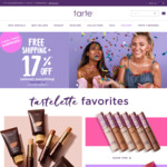17% off Almost Everything and Free Shipping @ Tarte Cosmetics
