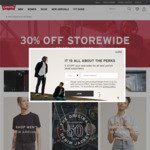 30% off Store Wide Online @ Levi's