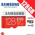 Samsung EVO Plus Micro SD Card 100MB/s 128GB $45.95 (HK), $57.95 (AU) Delivered, AU Warranty @ Shopping Square