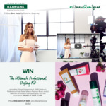 Win a Dyson Supersonic Hairdryer/Klorane Bundle Worth $1,155 +/- 1 of 47 Klorane Shampoos from Pierre Fabre Australia