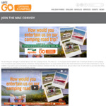 Win 1 of 3 Family Holidays in Tasmania from Let's Go Caravan & Camping