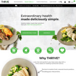 50% off THR1VE Ready Meals