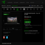 RAZER BLADE 14 (FullHD IPS/512GB/16GB DDR4/GTX1060) $2,499.95 (Extra $15 off with Newsletter Signup) @ RazerZone Official Store