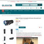 Olight Australia 900 Lumen S1R Baton LED Torch 40% off and Free Shipping Flash Sale - $50.97 Delivered