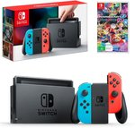 Nintendo Switch Neon Joy-Con Console with Mario Kart 8 Deluxe Bundle $488.00 + Shipping @ The Gamesmen